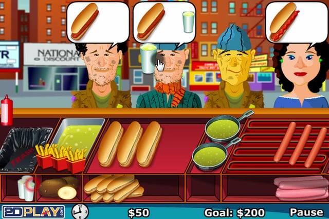 Hot Dog Cooking Games Online Free